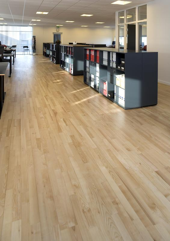 Administration Offices Building at Koege- Ash Harmony Parquet